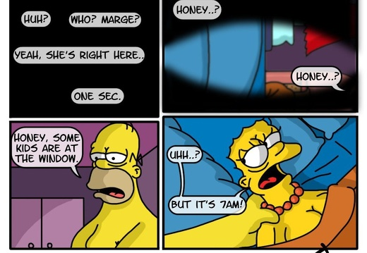Simpsons A Day In The Life Of Marge Rule 34 Comics
